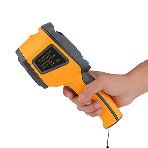 Imager Handheld Thermal (Infrared Thermal Imager Precision Protable Thermal Imaging Camera IR Thermometer Temperature Gun Non-contact -20℃ to 300℃ Digital LCD Display)