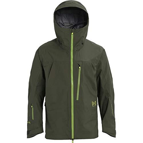 Burton - Mens AK Tusk 3L Snowboard Jacket 2019, Forest Night, XL