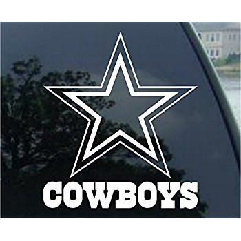 D Sticky Company Dallas Cowboys - Logo Cut Out Decal 8