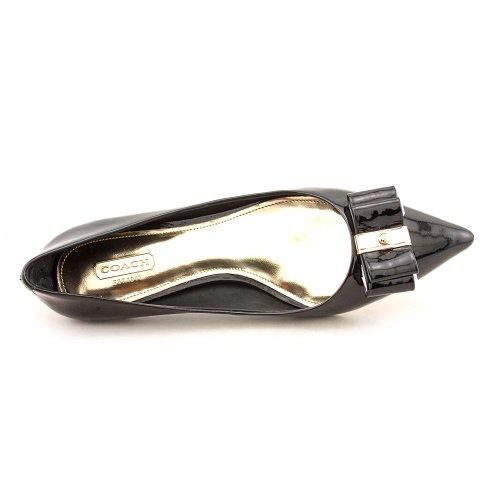Coach Womens Mandy Patent Black Size 8.5 M mgQkdqkXv