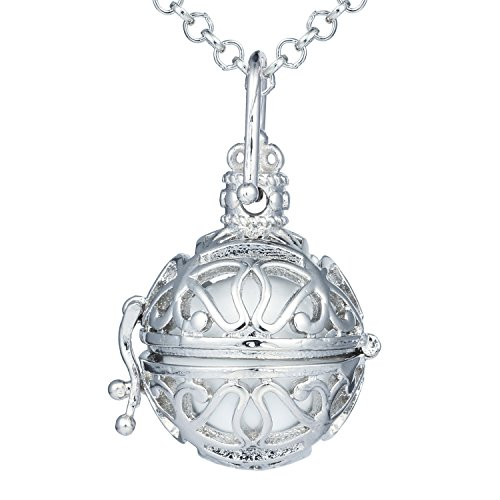 Bonnie Harmony Bola Angel Caller Ball Pendant Music chime Pregnancy Necklace 27 inch ()