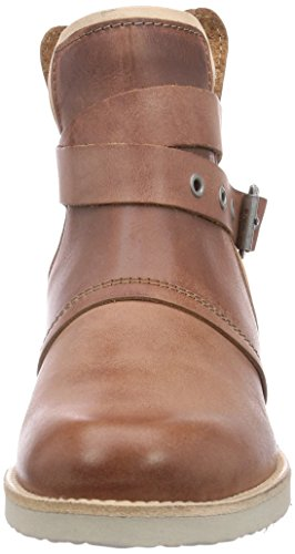 short slip Cab boots Brown length Treat W Yellow Braun on Women's lined Tan Cold SRFZwFq