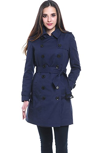 Navy All Weather Coat - 3