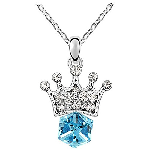 Marvella Green Earrings (GUGGE Princess Lover Imperial Crown Crystal Pendant(C1))