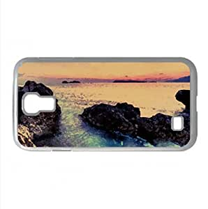 Beach Scenery Watercolor style Cover Samsung Galaxy S4 I9500 Case (Beach Watercolor style Cover Samsung Galaxy S4 I9500 Case)