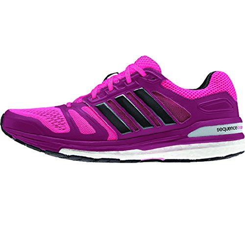durable service Adidas Supernova Sequence Boost 7 Womens Running Shoe 7 Bold Pink-Black