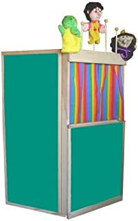 product image for Beka Floor Theater Puppet Stage, Marker Board Surfaces, Puppet Rack