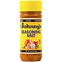 Johnny's Seasoning Salt, 4.75 Ounces, Pack of 6
