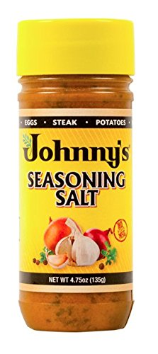Johnny's Seasoning Salt, 4.75 Ounce