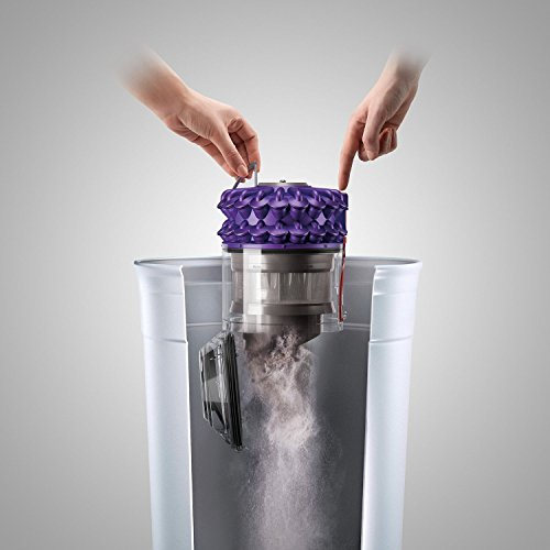 Dyson CY18 Cinetic Animal Canister Vacuum, Purple/Iron (Certified Refurbished) by Dyson (Image #4)