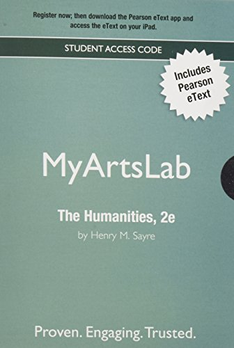 The NEW MyArtsLab with Pearson eText -- Valuepack Access Card -- for Humanities: Culture, Continuity and Change (All Vol