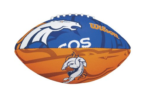 (Wilson NFL Junior Team Logo Football (Denver Broncos))