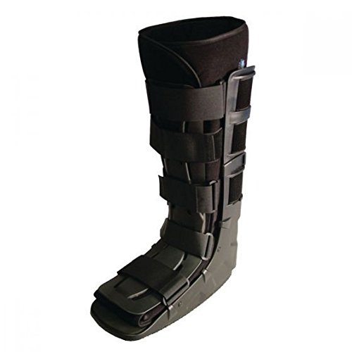 Sammons Preston Tall Shell Ankle Walker Small, Immobilization and Stabilization of Foot & Ankle Fractures & Sprains, Designed to Facilitate Natural Steps, Comfortable Prolonged Wear