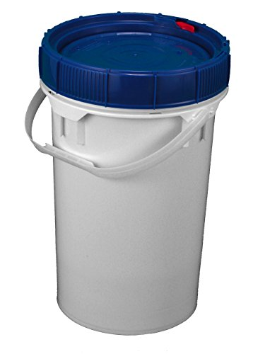 M&M's Screw Top Bucket - 6.5 Gallon with Blue Lid; Heavy ...