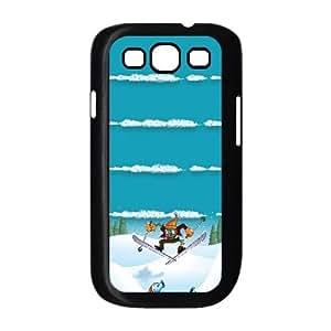 Snow Zombies Ski Samsung Galaxy S3 9300 Cell Phone Case Black DIY Present pjz003_6611304