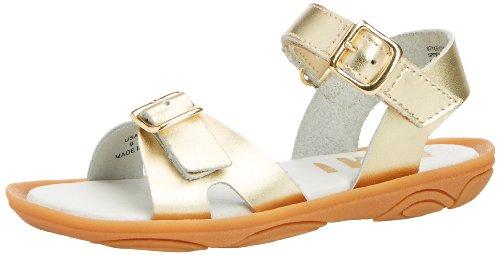 Umi Celia - Sandalias de vestir para niñas Dorado