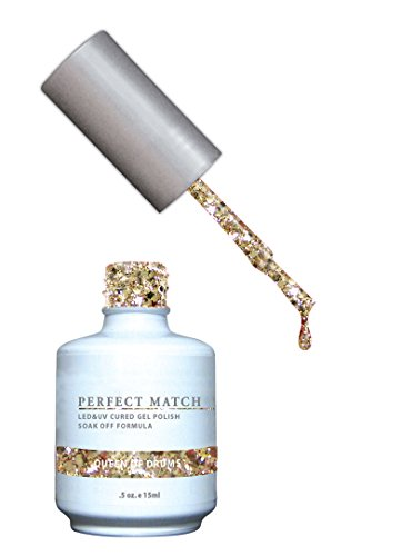 LECHAT Perfect Match Nail Polish, Queen of Drums, 0.500 (Queen Nail Lacquer)