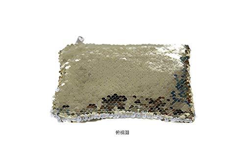 Amazon.com: Monedero de lentejuelas reversible con cambio de ...