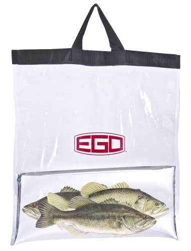 Ego Tournament Weigh-In Bag, Black/Clear -  Adventure Products, Inc., 73011