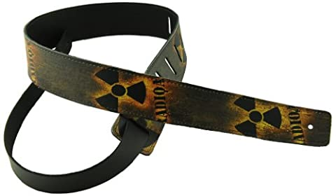 Perris Leathers P20OL-19 2-Inch Leather with High Resolution Funky Desgins (Funky Guitar Strap)
