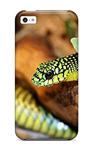 fenglinlinNew Arrival A Green Snake 2 Case Cover/ 5c Iphone Case 9788749K69739201