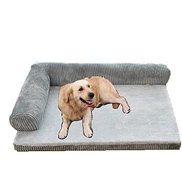 Cama para perros, almohadilla para perros extraíble y lavable para mascotas para perros, almohadilla