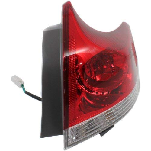 (Tail Light Compatible with Toyota Venza 2009-2012 RH Outer Assembly)