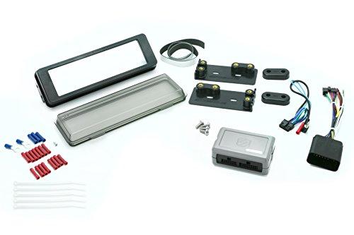 (Install Centric ICHD2BN Harley Davidson Complete Din Installation Kit )