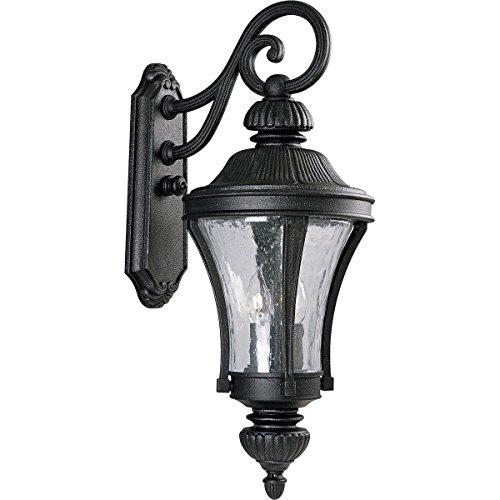 - Progress Lighting P5837-71 3-Light Nottington Wall Lantern, Gilded Iron