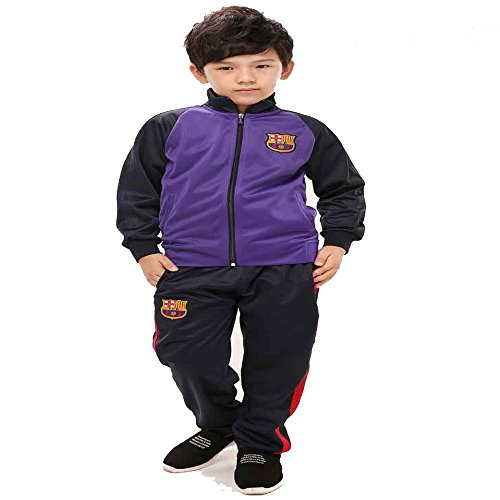 Barcelona Soccer Jacket Tracksuit for Unisex Men, Women Kid Youth 2016/17 Color Red/Royal Blue/Navy/Purple by iTop