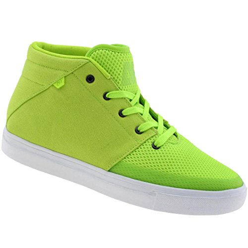 Android Homme Men's Modern Mid (dayglow green)-12.0