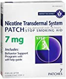 Habitrol Nicotine Transdermal System Patch 7 mg Step 3 - 7 ct, Pack of 4