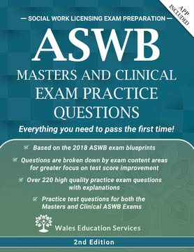 ASWB Masters Clinical Practice Questions product image