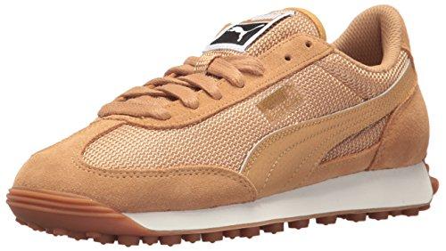 Puma Dames Easy Rider Mesh Wn Sneaker Appel Kaneel-appel Kaneel