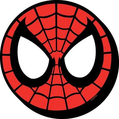 Aquarius Spiderman Mask Chunky Magnet