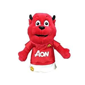 Manchester United F.C, Mascot golf de golf - Mascot - diseño - con una etiqueta oficial - mercadería