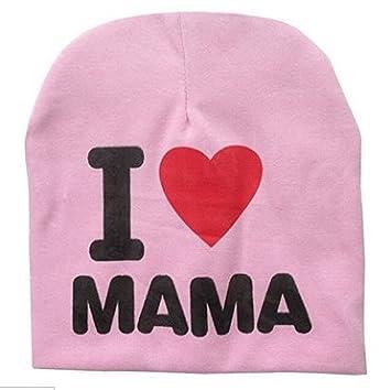 Danapp Baby Mü tze mit Buchstaben I Love Papa/Mama