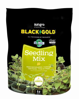 Black Gold 1311002 16-Quart Seedling Mix ()