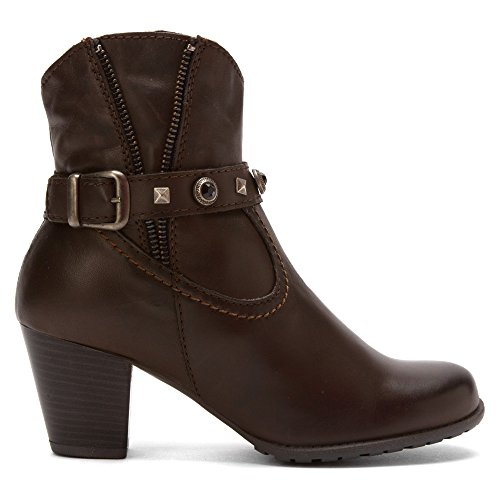Napa Flex Womens Ramona Zipper Pull À La Mode Botte Marron