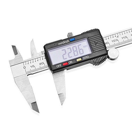 Gem Workshop Stainless Steel LED Electronic Digital Calliper Measuring Tool by Shop LC (Image #3)