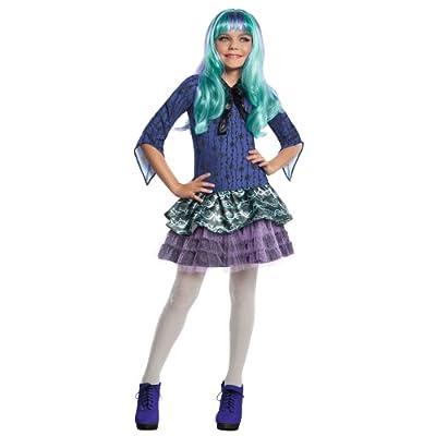 Monster High Twyla Costume, Medium: Toys & Games