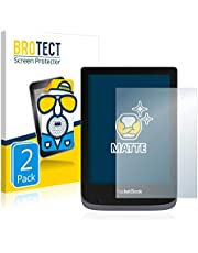 BROTECT 2x Antireflecterende Beschermfolie compatibel met PocketBook Touch HD 3 Anti-Glare Screen Protector, Mat, Ontspiegelend
