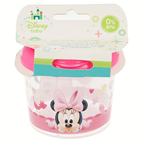 Stor st-39925  –   Dispenser per latte in polvere con 3  scomparti, motivo Minnie Mouse