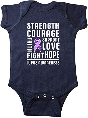 inktastic Lupus Awareness Strength Support Courage Infant Creeper