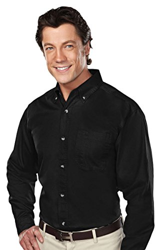 Tri-Mountain 770 Professional w/Dupont™ Teflon Stain Resistant Shirt, Black, (Tri Blend Yoke)