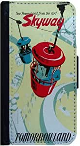 Skyway Vintage Tomorrow Land Sign Samsung Galaxy S3 Flip Case, Samsung Galaxy S3 Flip Cover, Flap Case, Pocket Case, Book Style Cover, Wallet Case, Bi-Fold Case, by Sublifascination 126