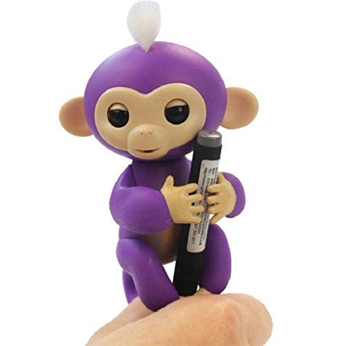 Price comparison product image Fingerlings monkey toy, Electronic Little Baby Monkey Partner Gift
