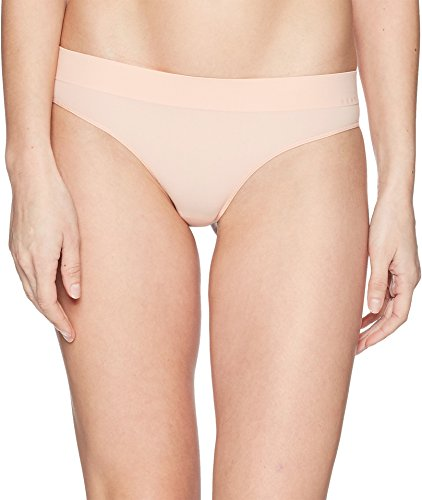 DKNY Intimates Women's Solid Thong Tea Rose Small (Rose Tea Small)