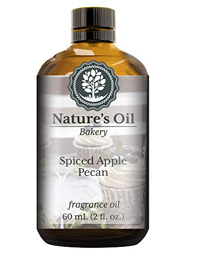 Spiced Apple Pecan Fragrance Oil (60ml) For Diffusers, Soap Making, Candles, Lotion, Home Scents, Linen Spray, Bath Bombs, Slime