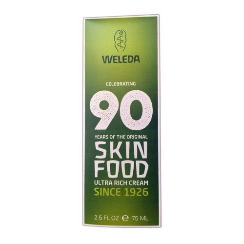 Weleda Skin Food For Dry and Rough Skin 2.5 Oz, Pack of 2